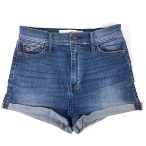 Hollister High Rise Shorts Size 25